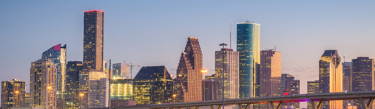 Houston largest commercial real estate owners city skyline